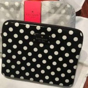 Polka Dot iPad Sleeve iPad 10 x 8